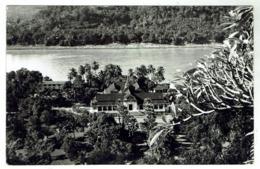 LUANG PRABANG Ancien Palais Royal Au Bord Du Mékong - Carte Sans Légende Années 50- Format 9 X14 - Laos