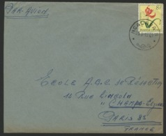 """RUANDA URUNDI """"NGAGARA-B"""" Obl. Cachet à Date Sur N° 193. Sur Enveloppe Par Avion Pour La France. - Ruanda-Urundi"""