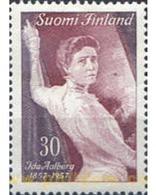 Ref. 102702 * MNH * - FINLAND. 1957. CENTENARIO DEL NACIMIENTO DE IDA AALBERG - Unused Stamps