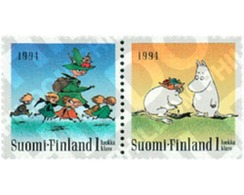 Ref. 126572 * MNH * - FINLAND. 1994. THE MUMINS . LOS MUMIN - Unused Stamps