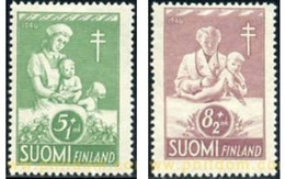 Ref. 103498 * MNH * - FINLAND. 1946. IN FAVOUR OF ANTI TUBERCULOSIS FUND . A BENEFICIO DE OBRAS CONTRA LA TUBERCULOSIS - Unused Stamps