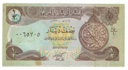 Iraq 1/2 Dinar. XF/AUNC - Iraq