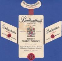 Whisky Label, Scotland - BALLANTINES Fine Scotch Whisky / Distillers Dumbarton, Scotland - Whisky