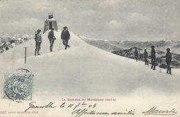 74 CHAMONIX MONT BLANC OBSERVATOIRE JANSSEN AU SOMMET DU MONT BLANC Editeur PHOTOGLOB 307 - Chamonix-Mont-Blanc