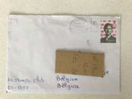 Cover Lettre 2018 Rey Filipe Tarifa B Espagne Spain Espana - 1931-Aujourd'hui: II. République - ....Juan Carlos I