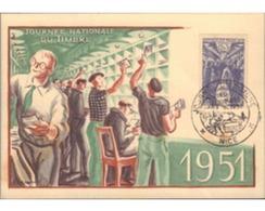 Ref. 597922 * MNH * - FRANCE. 1951. STAMP DAY . DIA DEL SELLO - Briefe U. Dokumente