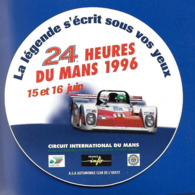 A.C.24 HEURES Du MANS 1996 - Autocollants