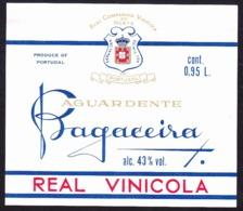 Brandy Label, Portugal - Aguardente BAGACEIRA / Vila Nova De Gaia - Labels