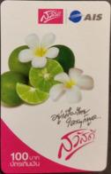 Mobilecard Thailand - AIS  - Obst,Früchte,fruits - Blüten - Lemone (1) - Alimentazioni