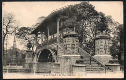 C8603 - Lille Le Pont Napoleon - Brücke - Feldpost 1. WK WW 40 Inf. Div - Lille