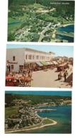 3 Different MACKINAC ISLAND, Michigan, USA, Old Chrome Postcards - Sonstige