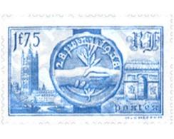 Ref. 120575 * MNH * - FRANCE. 1938. VISIT OF BRITISH SOVEREIGNS . VISITA DE LOS SOBERANOS BRITANICOS - Gezondheid