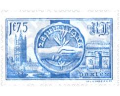 Ref. 352471 * HINGED * - FRANCE. 1938. VISIT OF BRITISH SOVEREIGNS . VISITA DE LOS SOBERANOS BRITANICOS - Frankrijk