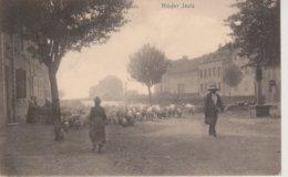 57 - YUTZ - NELS SERIE 101 N° 82 - TROUPEAU DE PORCS ALLANT PAITRE - CARTE RARE - France