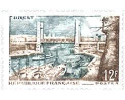 Ref. 121531 * MNH * - FRANCE. 1957. PORT OF BREST . PUERTO DE BREST - Nuevos