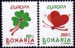 Roumanie - Europa CEPT 1998 - Yvert Nr. 4432/4433 - Michel Nr. 5297/5298 ** - 1998