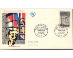 Ref. 575321 * MNH * - FRANCE. 1964. 20th LIBERATION ANNIVERSARY . 20 ANIVERSARIO DE LA LIBERACION - Storia Postale