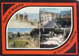 MARINA DI GIOIOSA JONICA  /  Saluti Con Vedutine _ Viaggiata - Reggio Calabria