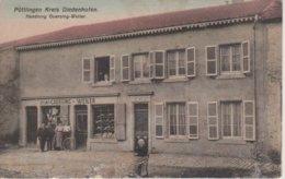 57 - PUTTELANGE LES THIONVILLE - COMMERCE GUERSING-WEILER - Francia