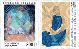 Ref. 367292 * MNH * - FRANCE. 1990. PIECES OF ART . OBRAS DE ARTE - Francia
