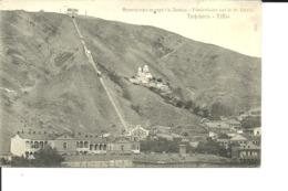 TIFLIS (Tbilissi). Funiculaire Sur Le St. David. CPA. 1906. Rare.  Voir Description - Géorgie