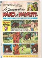 NAND Et NANETTE Le Journal Du 22 Juin 1965 Les Indiens Iroquois AKWAS Et Mark Trail - Magazines Et Périodiques