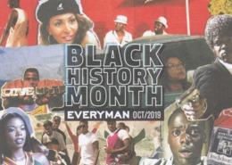 Postcard Advertising Black History Month At Everyman Cinema During October 2019 [ Film ] My Ref  B23837 - Advertising