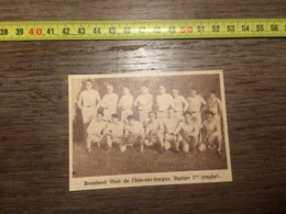 1932 1933 M EQUIPE DE RUGBY BOXELAND CLUB L ISLE SUR SORGUE 1 - Old Paper