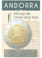 EUROS ANDORRE 2019 Commemoratif CONSELL DE LA TERRA - Andorre