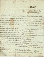 1779 AVANT LA REVOLUTION PRIEURE DE COURSEULLES   ?? (CALVADOS)  COMMANDE DE VINS Pour Bouchard  à Beaune - Documenti Storici