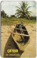 Equatorial Guinea - GETESA - Wooden Boat - SC7, 30Units, Used - Equatoriaal Guinea