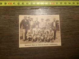 1932 1933 M EQUIPE DE ATHLETISME BOXELAND CLUB L ISLE SUR SORGUE - Vieux Papiers
