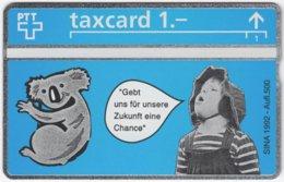 SWITZERLAND C-879 Hologram Private - Painting, Animal, Koala - 207L - MINT - Suisse