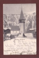 Graubünden - MONSTEIN - Bie Kirche - 1905 Langstempel - GR Graubünden