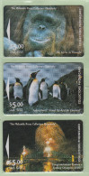 New Zealand - Private Overprint - 1993 Philatelic Press Collectors Quarterly Set (3) - VFU - NZ-LO-1/3 - New Zealand