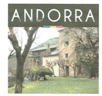 EUROS ANDORRE 2019 SET 8V.  CONSELL DE LA TERRA - Andorra