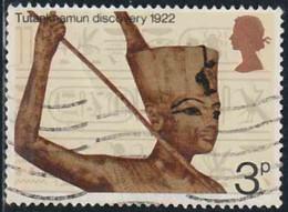 GB 1972 Yv. N°657 - Tombe De Toutankhamon - Oblitéré - 1952-.... (Elizabeth II)