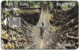 Guinea - Sotelgui - Pont En Liane, SC7, Old Schlumberger Logo In Box, 50Units, Used - Guinea