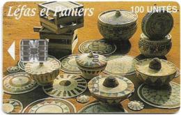 Guinea - Sotelgui - Léfas Et Paniers, SC7, Old Schlumberger Logo In Box, 100Units, Used - Guinea