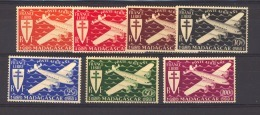 05523 -   Madagascar  -  Avion  :  Yv 55-61  * - Madagascar (1889-1960)