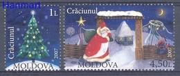 Moldova 2007 Mi 602-603 MNH ( ZE4 MOL602-603 ) - Moldavie