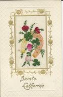 CPA BRODEE SAINTE CATHERINE - Cartes Postales