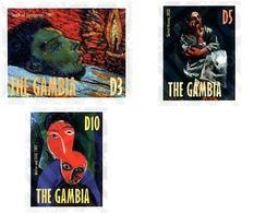 Ref. 89207 * MNH * - GAMBIA. 1998. 25 ANIVERSARIO DE LA MUERTE DEL PINTOR PABLO PICASSO - Gambia (1965-...)
