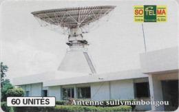 Mali - SoTelMa - Antenne Sullymanbougou, 60U, SC7, SchlumbergerSema Logo, Used - Mali