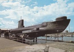Postcard HMS Alliance Royal Navy Submarine Ashore At Submarine Museum Gosport Hampshire My Ref  B23839 - Submarines