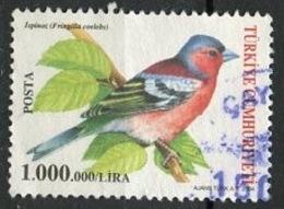 Turquie - Türkei - Turkey 2004 Y&T N°3119 - Michel N°3390 (o) - 1000000 Pinson - Used Stamps