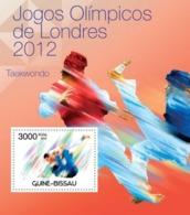 Guinea-Bissau, 2012. [gb12308] London Olympic Games 2012, (Boxing, Taekwondo) (s\s+block) - Summer 2012: London