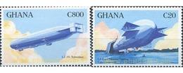 Ref. 317444 * MNH * - GHANA. 1993. ZEPPELIN . ZEPPELIN - Ghana (1957-...)