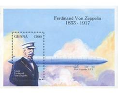 Ref. 317445 * MNH * - GHANA. 1993. ZEPPELIN . ZEPPELIN - Ghana (1957-...)