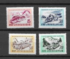 1953 MNH Yougoslavia  Mi 724-7 - 1945-1992 République Fédérative Populaire De Yougoslavie